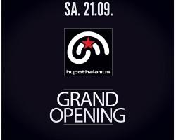 Eröffnung am 21.09.13