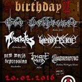 DEATH METAL BIRTHDAY III