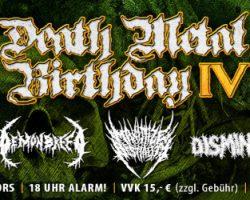 Abendkasse DEATH METAL BIRTHDAY IV
