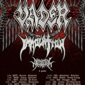 VADER & IMMOLATION – Rise Of The Empire Europe 2017