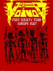 VOIVOD – Post Society Tour Europe 2017 + Support REZET