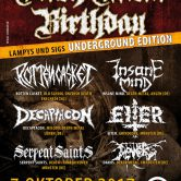 DEATH METAL BIRTHDAY – Underground Edition