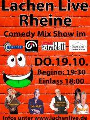 LACHEN LIVE RHEINE – Comedy Mix Show