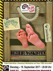 LITERARISCHE BÜHNE RHEINE & EMPYREUM – Beziehungskisten
