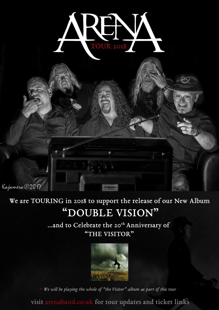 ARENA - Double Vision Tour 2018 - hypothalamus hypothalamus