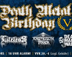 !!!!! Jubiläums-Abendkassenpreis DEATH METAL BIRTHDAY V !!!!!