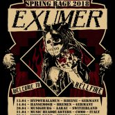EXUMER – Spring Rage 2018 with special guests JAMHEADS & PERZONAL WAR