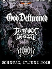 GOD DETHRONED, DAMNATION DEFACED, EMBEDDED