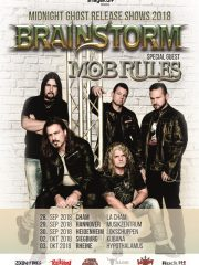 BRAINSTORM – Midnight Ghost Release Show + special guest MOB RULES