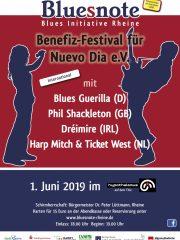 Bluesnote präsentiert: Benefizfestival zugunsten Nuevo Dia e.V