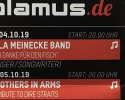 ULLA MEINECKE- Konzert abgesagt
