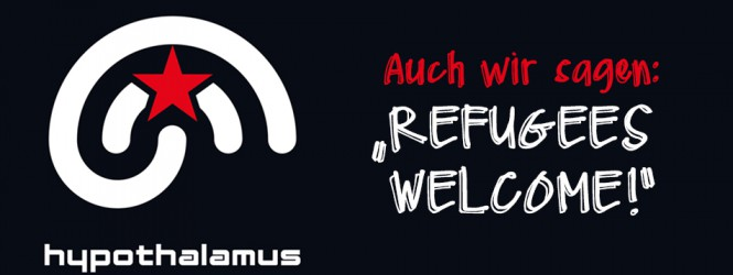 "01.10.15: Music is for everyone – ""REFUGEES WELCOME!"""
