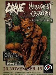 GRAVE & MALEVOLENT CREATION – Death Raid Over Europe Tour 2015 / + EMBEDDED