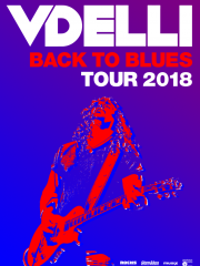 VDELLI – Back To Blues Tour 2018 + special guest BOOZE BONER TROUBLE
