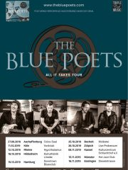 THE BLUE POETS – All It Takes Tour 2019 // Support: JAIL JOB EVE