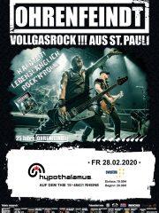 OHRENFEINDT – HALBZEIT! LEBENSLÄNGLICH ROCK'N'ROLL! + Special Guest: tba