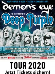 DEMON'S EYE – DEEP PURPLE In Rock – Tour 2020