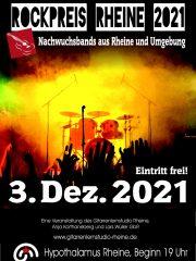 Gitarrenlernstudio Rheine präsentiert: ROCKPREIS RHEINE 2021